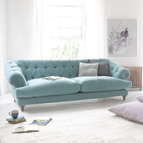 lovely comfy chesterfield