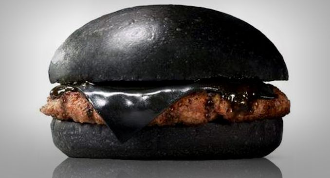 Burger King's new all-black burger has black buns, cheese, and sauce... Available in Japan only (of course)