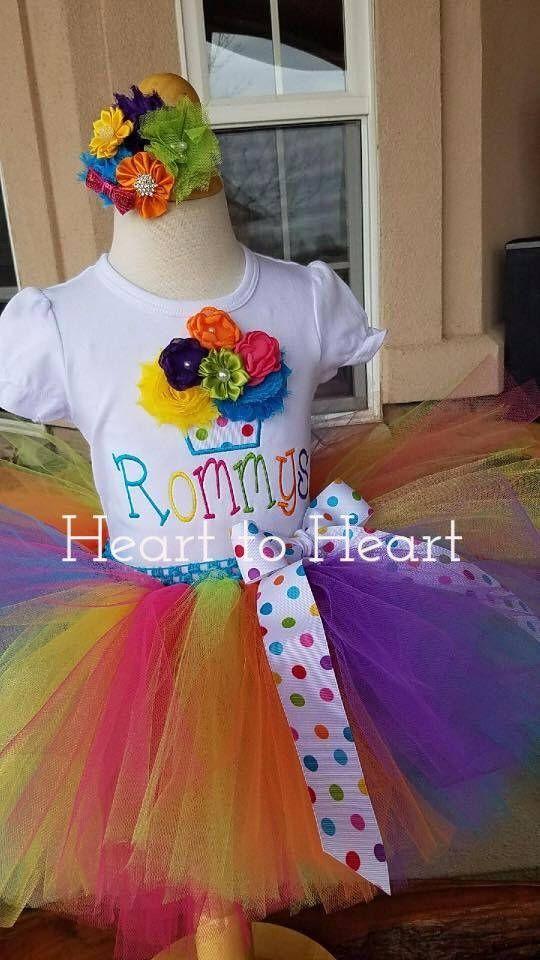 Birthday tutu outfit set, Confetti tutu, Rainobow tutu, Rainbow tutu outfit set, Birthday girl, tutu, tutu dress, cupcake tutu outfit set by HeartTOHeartCO on Etsy https://www.etsy.com/listing/526785261/birthday-tutu-outfit-set-confetti-tutu