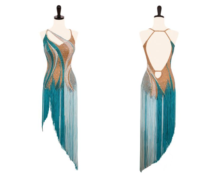Waves of Fortune - Encore Ballroom Couture