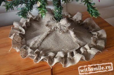 Венок новогодний из старой елки