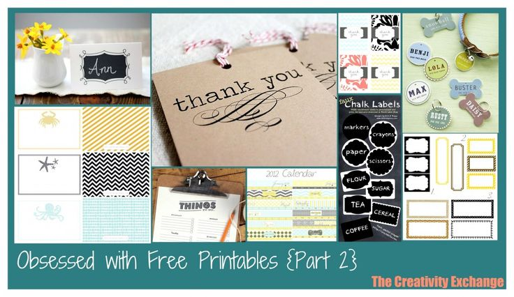 Obsessed with Amazing Free Online Printables.. Send Help!