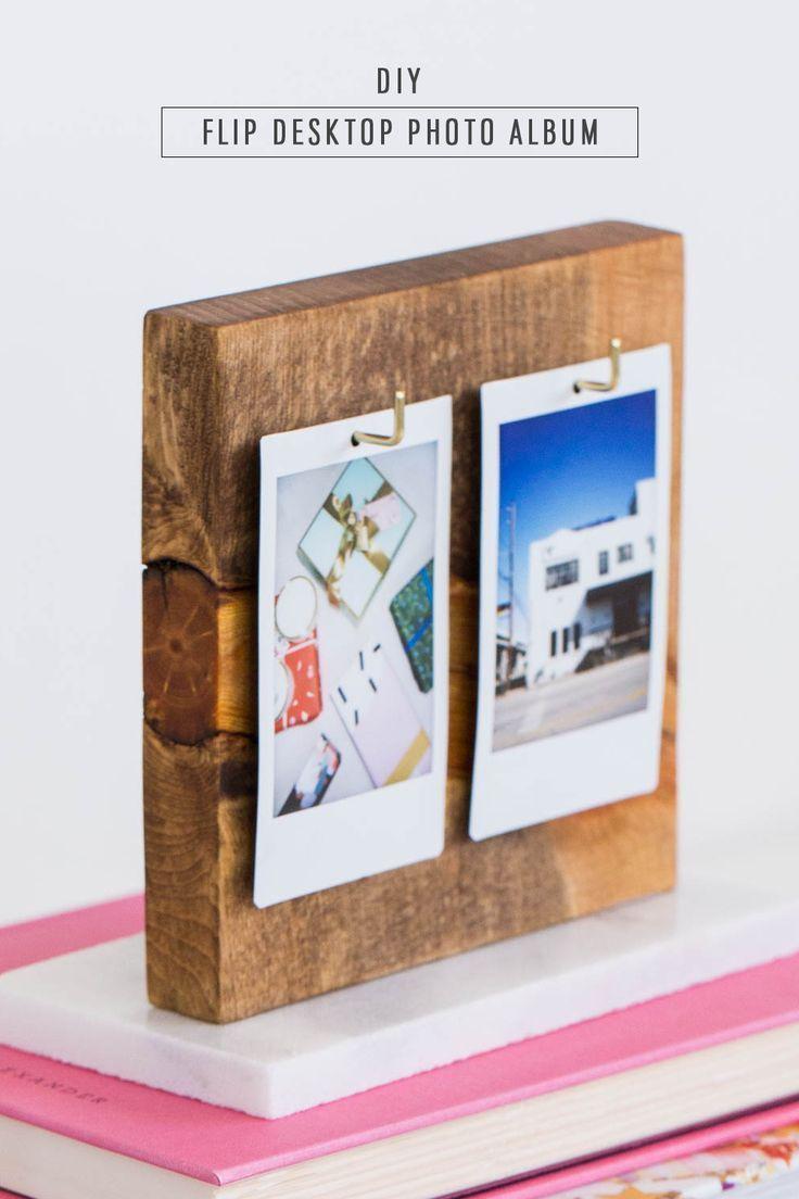 A DIY Flip Photo Album for your Desktop! by lifestyle blogger Ashley Rose of Sugar & Cloth - Houston
