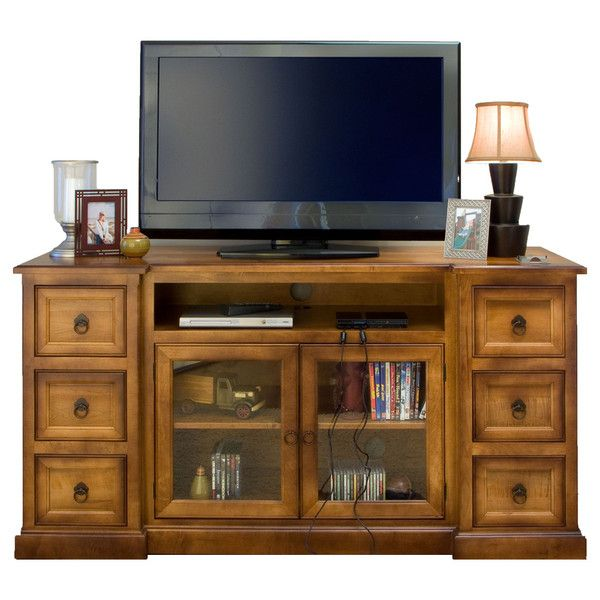 Bridgeport Media Center   Amish Tables Customize This Piece With Your Wood  Type U0026 Finish