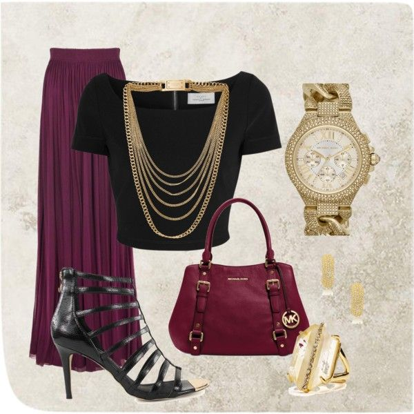 """""""long skirt outfit idea"""" Things to wear..."""