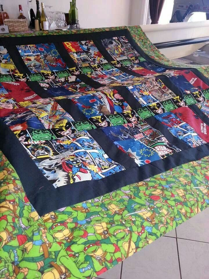 73 Best Super Hero Quilts Images On Pinterest Baby Boys