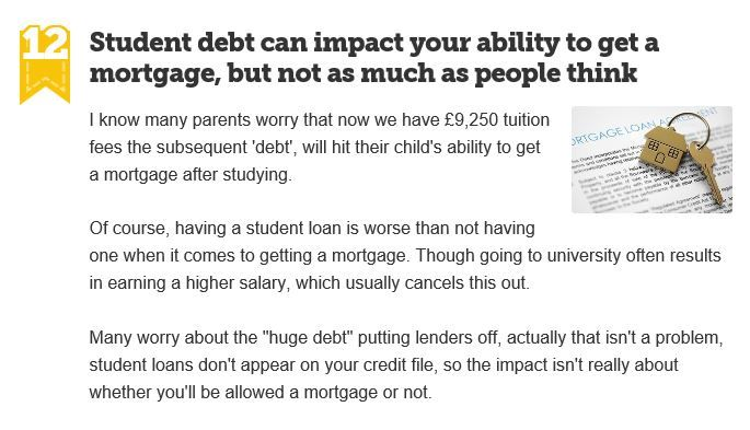 Does My Student Loan Debt Affect A Mortgage Application Student Loans Student Student Debt