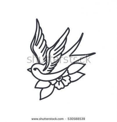 29 Ideas Tattoo Traditional Golondrinas