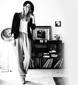 Interview with model, DJ and fashion editor Charlotte Thorstvedt - Love her style! - Imiintoyou celebs.talk.fashion