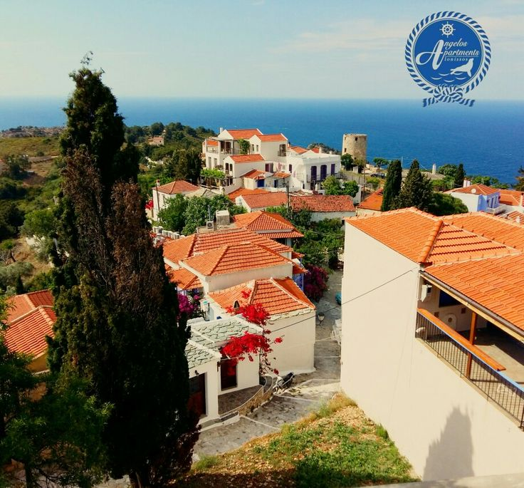 Old village of Alonissos! ! 🏡🏡🏡 #angelos_apartments #Alonissos #Sporades #Greece #old_village #chora #summer #discoveralonissos #visitalonissos #island
