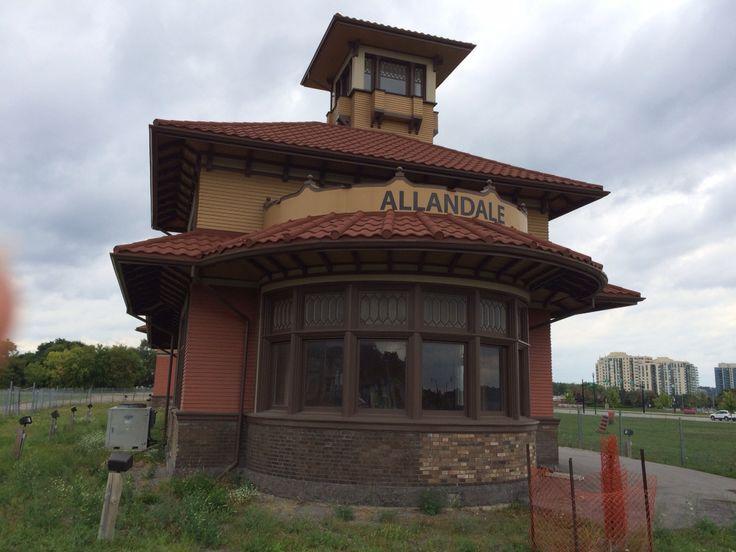 Old Allendale Train Station