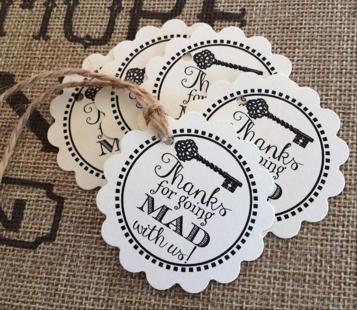 Printed Alice in Wonderland Inspired Mad Hatter Tea Party Baby Shower, Bridal Shower, Thank You for Going Mad With Us Tags by ourdesigner on Etsy https://www.etsy.com/listing/232050492/printed-alice-in-wonderland-inspired-mad