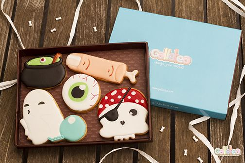 Pack de Halloween. Diseño de Galletea. http://www.galletea.com/galletas-decoradas/