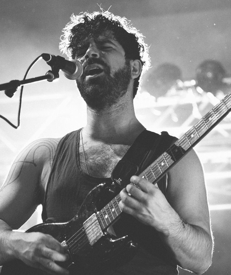 """""""I used music to build a fortress around myself. But I realised I needed emotional catharsis. Music can be a soothing balm."""" - Yannis Philippakis"""