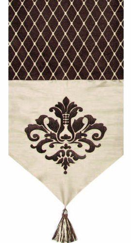 Jennifer Taylor 2791-621622 Table Runner, 12-1/2-Inch by 72-Inch, Cover 100-Percent Polyster by Jennifer Taylor. $84.50. Table runner cover 100-percent polyster. Home decor brings classic style and luxurious comfort to the home. Without trims. Jennifer Taylor Table Runner, 16--inch by 120-inch, Cover 100-percent polyster, without trims, Classic Style, home-decor-products. Save 30% Off!