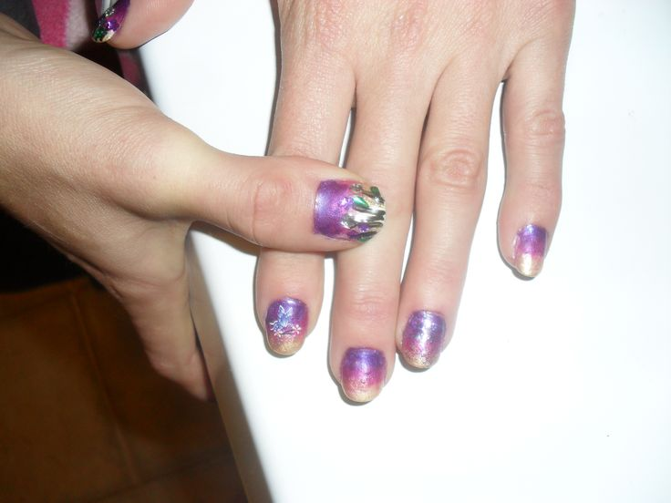 I love these nails they were a lot of fun if somewhat messy