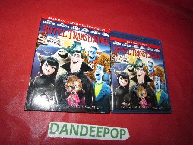 Hotel Transylvania Blu Ray + DVD Movie #HotelTransylvania Find me at dandeepop.com