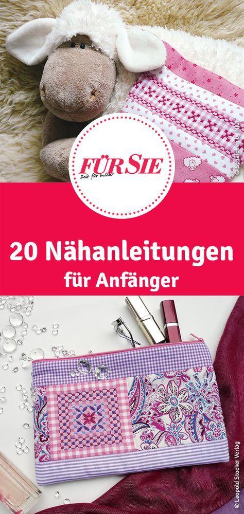 DIY-Ideen zum Sticken und Nähen Kathrin Schmidt