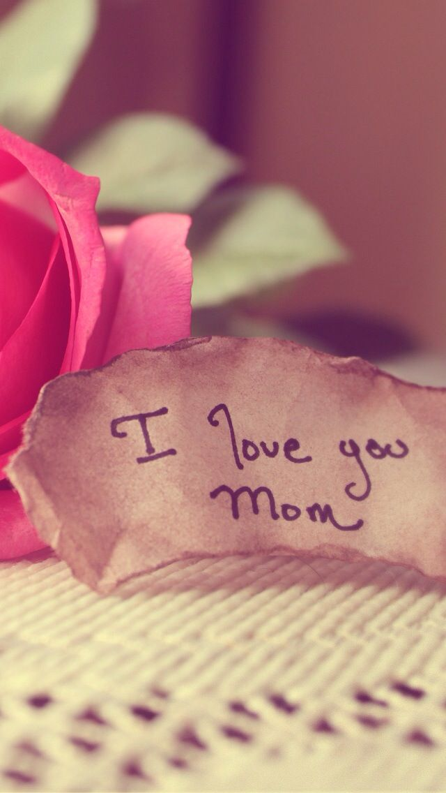 I love u mom... and the way u tried for me. God bless u..