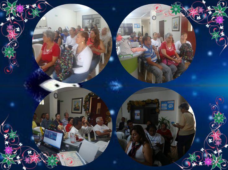 Gracias a todos los miembros pacientes de Fundapso por su apoyo y constancia asistiendo a las charlas mensuales