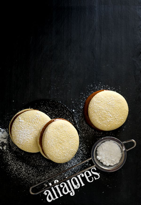 Alfajores (Gluten-Free) if using Cup4Cup flour... also, cajeta is similar to dulce de leche but it is made from goat's milk.