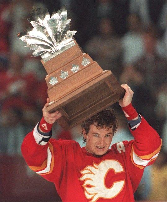 1989 | Calgary #Flames D Al MacInnis.