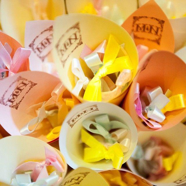 #wedding item #wedding #ribbon #結婚式 #リボンシャワー #フラワーシャワー #手作り #貸切 #埼玉 #小物