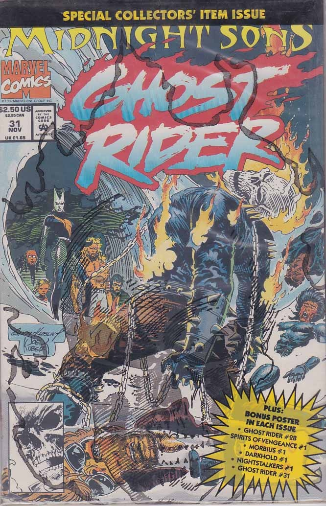 Rare Ghost Rider Comics | Comic Books Rare And New | Pinterest