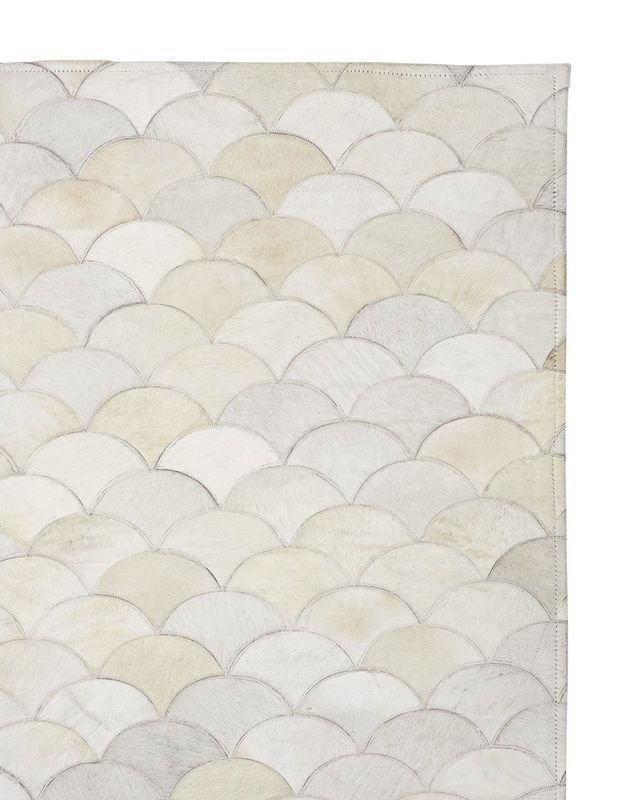 Scalloped Hide RugScalloped Hide Rug