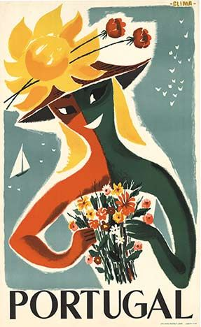 Portugal Tourism poster (1958)