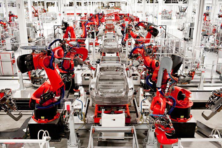 Tesla model s factory fremont ca march 26 2012 for
