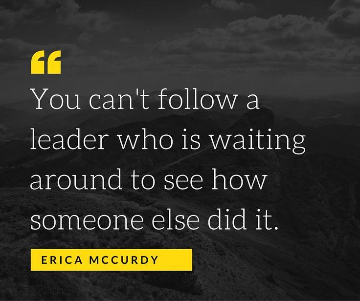 Leadership  www.McCurdySolutionsGroup.com