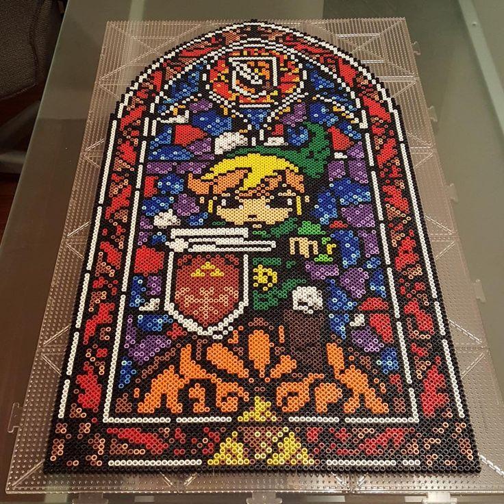 Legend of Zelda perler bead art by li_mona_de