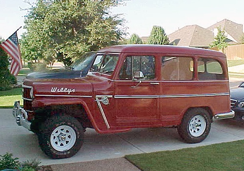 Vintage 1959 Jeep Willys Utility Wagon. | Drive! | Jeep ...