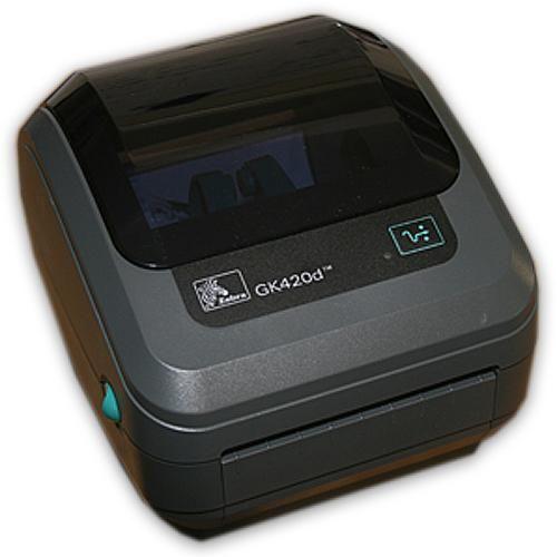 Zebra GK420D Direct Thermal Ethernet Barcode Shipping Label Printer UPS USPS FedEx