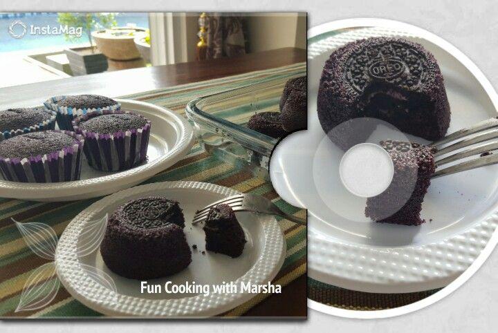 Oreo Steamed Cake