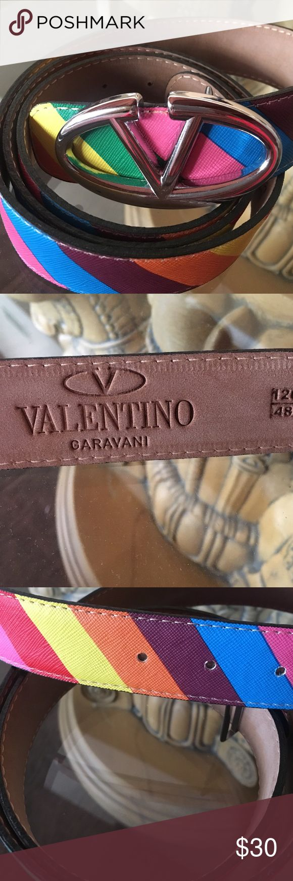 Colorful Valentino design style Best quality of leather. New . Without tag. I bought it from Paris last year Accessories Belts