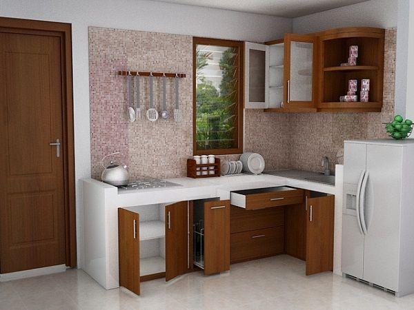 Harga & 70 Model Gambar Kitchen Set Minimalis - Memiliki dapur yang rapi, bersih, dan semua barang tertata adalah impian setiap orang. Den...