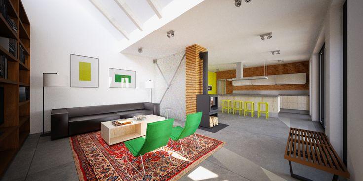 residence interior design by Cubica in Zvolen