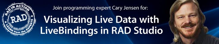 LiveBindings in Delphi and RAD Studio