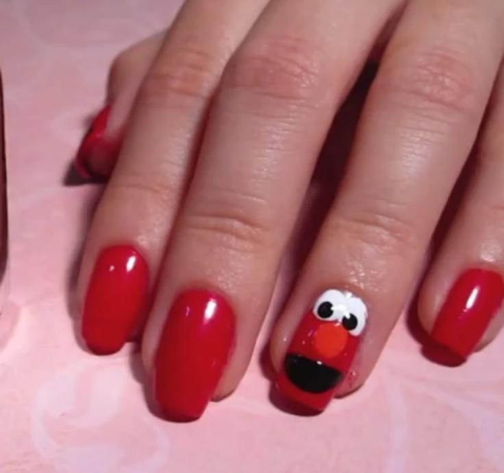 Little Girl Nail Design Ideas sweet sugar christmas nail art ideas My Little Girl Would Love This Cartoon Nail Designskid