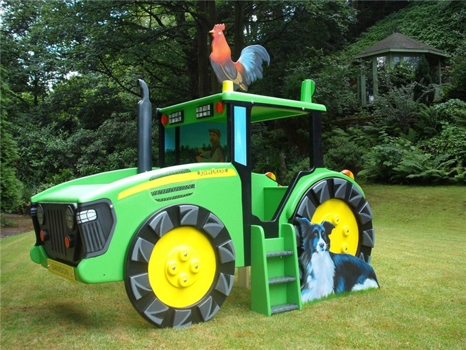 Want to make this into a tractor bed for my son.