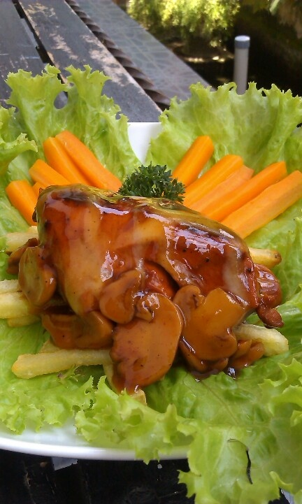 Chicken BBQ - Saos Jamur
