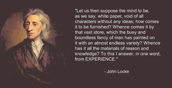 John Locke - The Tabula Rasa: