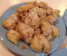 Chinese takeaway honey chicken