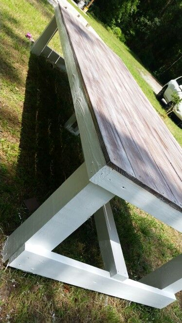 My family farm table   :-) 12 foot x 46 inches  big enough ? :-)