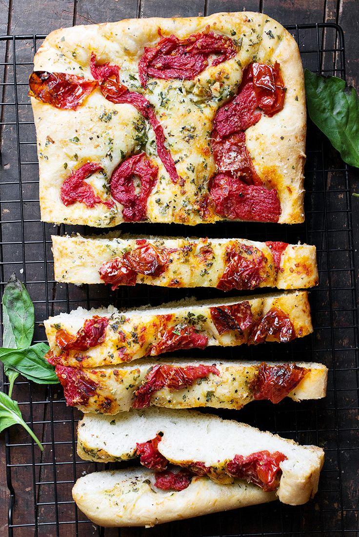 how to serve focaccia bread