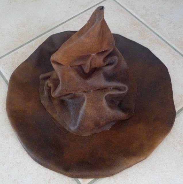 diy tuto fabriquer choixpeau chapeau du film harry potter noël à poudlard hogwarts christmas