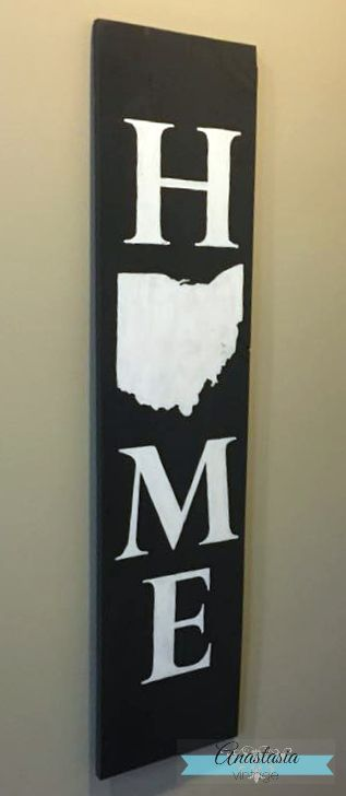 Ideas for handmade farmhouse style signs for every room of the home!