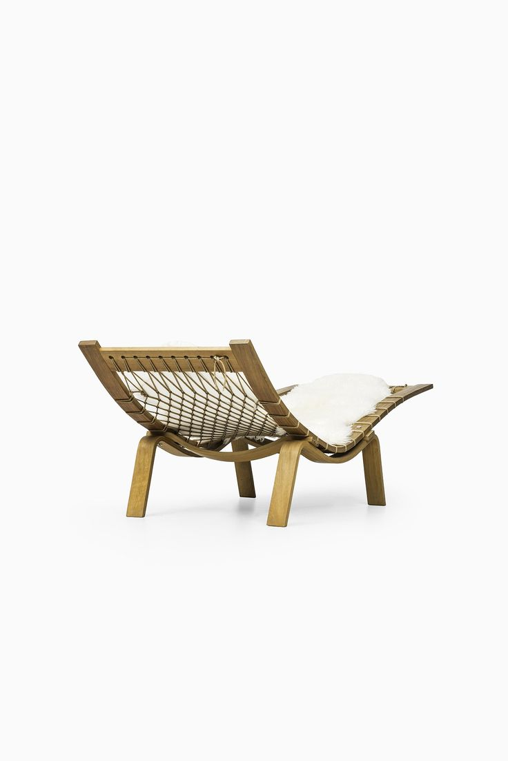Hans Wegner GE-2 / Hammock chair by Getama at Studio Schalling